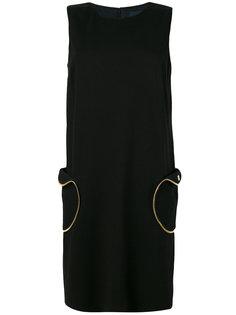 платье шифт с карманом Cavalli Class