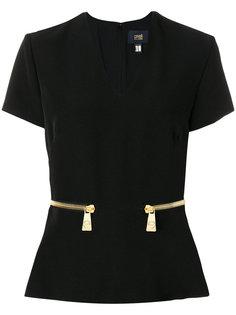 блузка с V-образным вырезом Cavalli Class