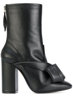 ботинки с перекрученной деталью Nº21