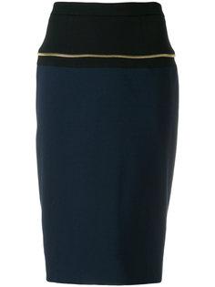 прямая юбка-карандаш Cavalli Class