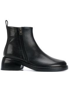 ботинки с двумя молниями Ann Demeulemeester