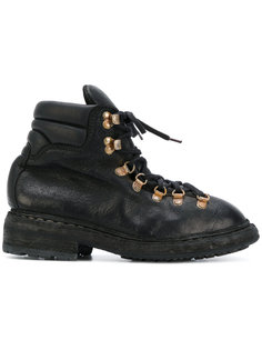 ботинки в походном стиле на шнуровке Guidi