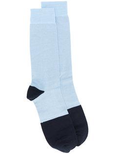 двухцветные носки Marni
