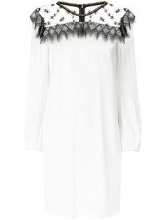платье с кружевной панелью Cavalli Class