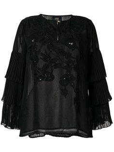 блузка с пайетками Cavalli Class