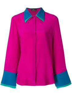рубашка с многослойным воротником  Capucci