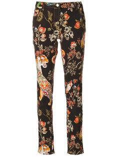прямые джинсы с принтом  Etro