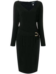 платье с поясом Cavalli Class