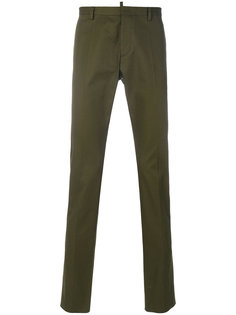 зауженные брюки Dsquared2