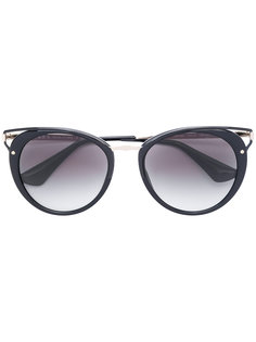 """солнцезащитные очки с оправой """"кошачий глаз"""" Prada Eyewear"""