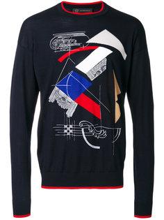 свитер с принтом Capitello Versace