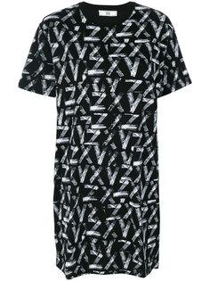 футболка свободного кроя Versus