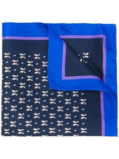 шарф с принтом пингвинов Etro