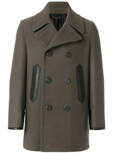 пальто Bianco Salvatore Ferragamo