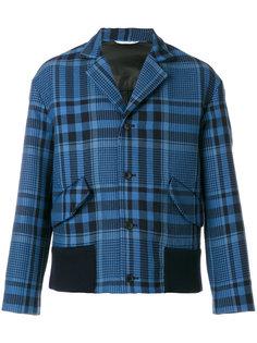 куртка в Шотландскую клетку Valentino