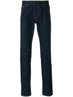 джинсы прямого кроя Salvatore Ferragamo