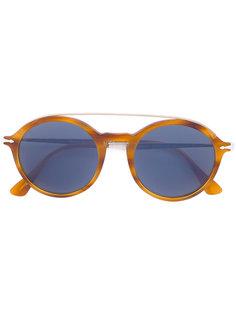 классические круглые солнцезащитные очки Persol
