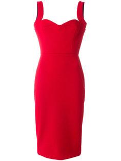 приталенное платье  Victoria Beckham