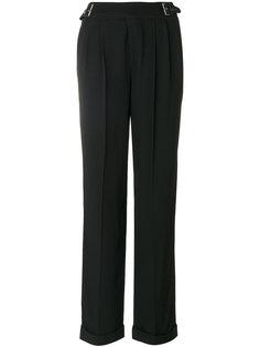 брюки с ремешками на поясе Tom Ford