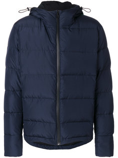 дутая куртка с капюшоном MSGM