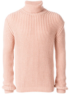 свитер узкого кроя с высоким воротником MSGM
