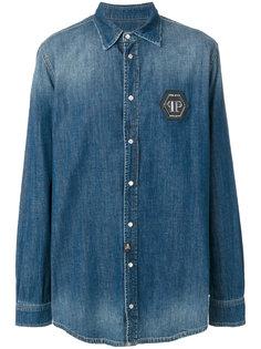 джинсовая рубашка Eisuche Philipp Plein