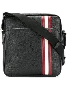 сумка-почтальонка с контрастной полоской Bally