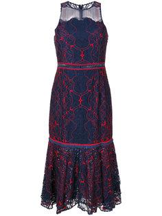 кружевное платье без рукавов  Jonathan Simkhai