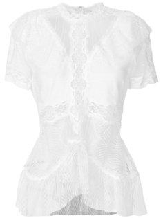 кружевная блузка  Jonathan Simkhai