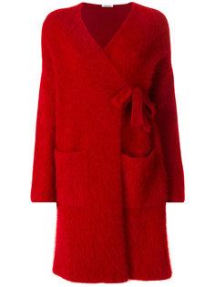 пальто-кардиган с запахом  P.A.R.O.S.H.