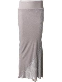 юбка до щиколоток  Rick Owens