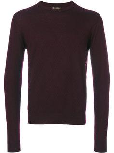 свитер с геометрическим узором Corneliani