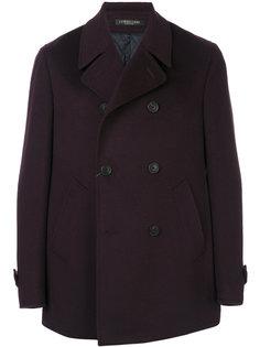 короткое двубортное пальто Corneliani