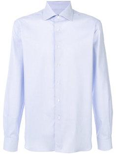 рубашка с геометрическим узором Corneliani