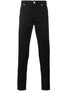 джинсы скинни с вышитыми звездами Givenchy