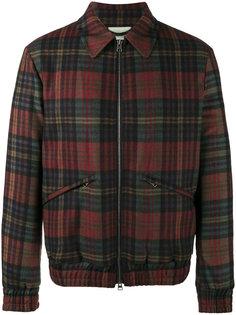 клетчатая куртка в стиле рубашки Etro