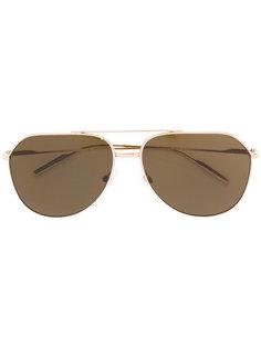 классические солнцезащитные очки-авиаторы Dolce & Gabbana Eyewear