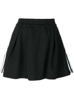 плиссированная юбка с тремя полосками  Adidas