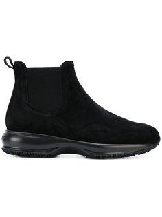 ботинки с эластичными вставками сбоку Hogan