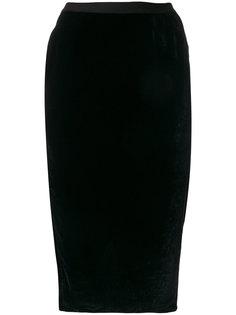 приталенная юбка Rick Owens