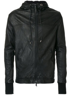 куртка-бомбер с капюшоном Giorgio Brato