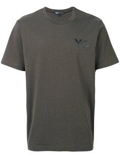 футболка свободного кроя с логотипом Y-3