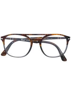 очки с контрастной оправой Persol