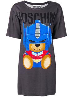 платье-футболка Transformer bear Moschino