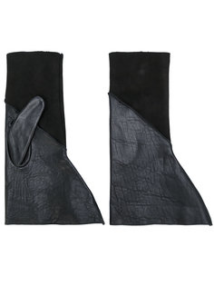 перчатки без пальцев Rick Owens