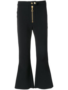 укороченные брюки на молнии Ellery