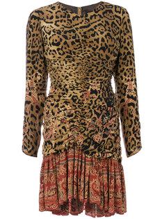 платье с леопардовым узором Etro