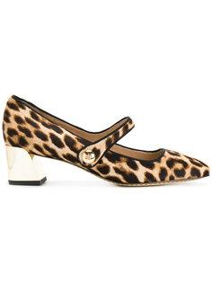 туфли с квадратным носком Tory Burch