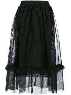 тюлевая юбка  Simone Rocha