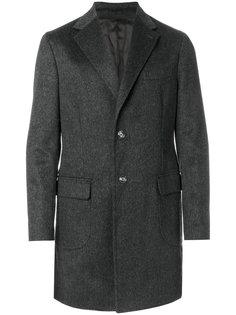 однобортное классическое пальто Barba